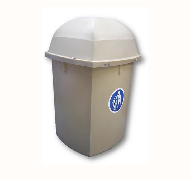 BFA45 220L DURABLE PLASTIC LITTER BIN
